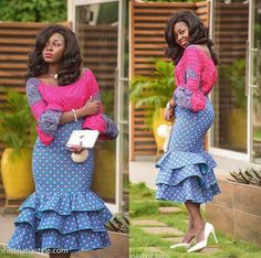 Check out these latest african fashion trends we have lined up for you today. They look classic and absolutely gorgeous.Beautiful, Super Stylish and Unique Ankara Style For African Woman Unique Ankara Styles, Ankara Long Gown Styles, Latest Ankara Styles, Ankara Gowns, Ankara Dress, African Print Dresses, African Fashion Dresses, African Dress, Ankara Fashion
