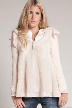 Sweaters tejidos invierno 2013 Agostina Bianchi