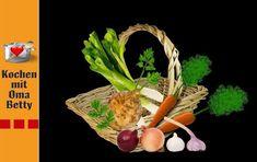 Suppengrün haltbar machen - Rezept von Bettina Böhme Maggi, Youtube, Carrots, Mint, Youtubers, Youtube Movies