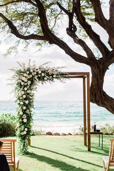 Are you thinking about having your wedding by the beach? Are you wondering the best beach wedding flowers to celebrate your union? Here are some of the best ideas for beach wedding flowers you should consider. Wedding Ceremony Ideas, Wedding Altars, Wedding Venues, Arch Wedding, Lake Wedding Ideas, Simple Wedding Arch, Wedding Photos, Ceremony Signs, Wedding Games