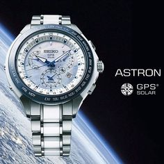The new Astron GPS Solar Dual Time - now available worldwide. Astron - SSE039