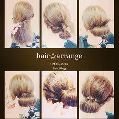 和装にぴったり!インスタで人気の美容師Erinaさんから学ぶセルフヘアアレンジレシピ♡ | marry[マリー]