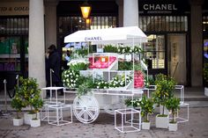 Chanel Flower Cart