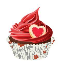ᗰу ᏞíƖ Çupçɑƙє Cupcakes Wallpaper, Cupcake Clipart, Ice Cream Cupcakes, Cupcake Drawing, Bakery Logo, Fb Covers, Birthday Fun, Persona, Decoupage