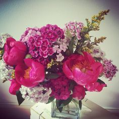 Bloomin' peonies