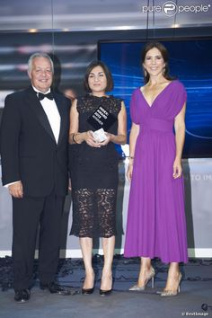 30 AUGUST 2013  Crown Princess Mary Crown Princess Mary attended the INDEX Award Ceremony 2013 in Helsingør