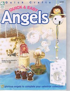 Quick and Easy Angels Craft Pattern Leaflet