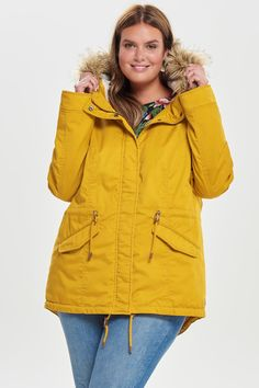 Parka Jas | Plus Size Fashion | Herfst 2018...
