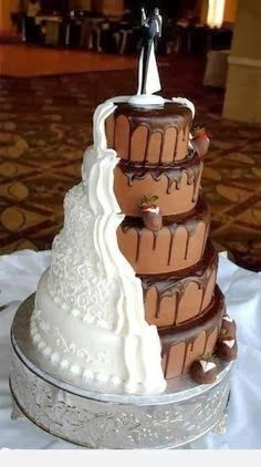 wedding cake 2014 Wedding Ideas For 2014- hahaha probably what my husband and i will end up doing :P