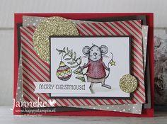 Stampin' Up! - Pinkies Seasonal Blog Hop - - SU - Christmas - Merry Mice
