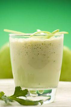 04.batida-Jugo de avena, manzana verde y limón para la gastritis, estreñimiento y pirosis