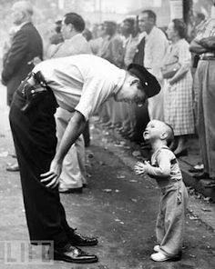 Boy & Cop in Chinatown   by Bill Beall  1958.  This is one of my favorite photos of all time.