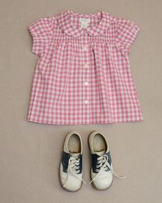 Gingham Check Alyssa Top