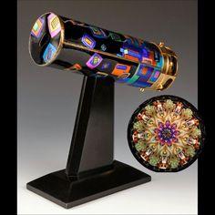 Kaleidoscope by Peggy Kittelson #accshow #handmade #kaleidoscope