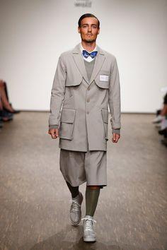 Pin for Later: Entdeckt alle Trends der Berlin Fashion Week in nur 5 Minuten Tag 2: One Wolf