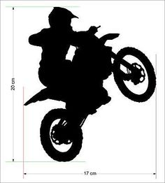 Motorbike 9 | PLOTTER | Pinterest | Motorbikes, Silhouette and Php