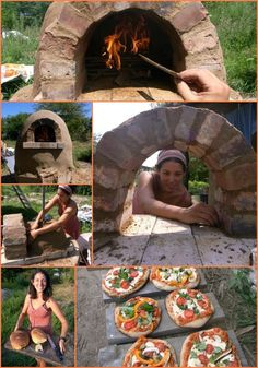 How to Build a Wood-Fired Outdoor Cob Oven for Backyard Projects, Outdoor Projects, Garden Projects, Wood Projects, Wood Fired Oven, Wood Fired Pizza, Wood Oven, Pizza Oven Outdoor, Outdoor Cooking