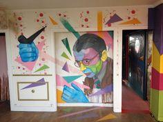 La plus grande expo street art : Tour Paris 13 Paris 13, Paris Love, Paris City, Art Parisien, Street Art, Royalty Free Pictures, Paris Hotels, Album Photo, Land Art