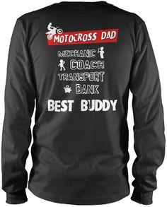 Jobs of a Motocross Dad - T-Shirt