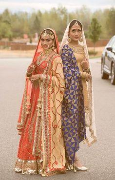 Punjabi Fashion, Ethnic Fashion, Bollywood Fashion, Desi Bride, Desi Wedding, Punjabi Wedding, Wedding Suits, Indian Suits, Indian Attire