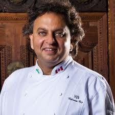Vij Vikram - my favourite chef from Vij's Restaurant in Vancouver, BC