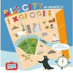 Big City Explorer. Join Penguin as he travels through some of the most amazing cities in the world in Big City Explorer. Learn about Istanbul, London, New York, Paris, San Francisco, Buenos Aires, Rio de Janeiro, Moscow, Rome, Berlin, Hong Kong, Tokyo, Beijing, Seoul, Dublin, Mexico City, Singapore, Madrid, Cairo, Dubai, Sydney, Auckland, Amsterdam, Toronto, Cape Town, Mumbai, Washington, D.C. and Chicago. #childrensbook #education #childrensgeography