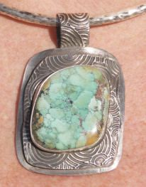 Pendant by Marcia Glenn of Albuquerque