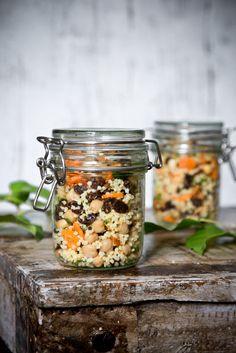 Hirsesalat mit Kichererbsen und Möhren von Foodlovin'