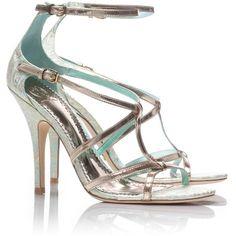 Tory Burch Liberty Sandal ($350) via Polyvore