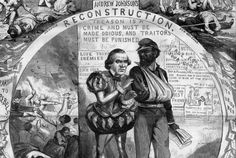 The Political Cartoon That Explains the Battle Over Reconstruction      |     History | Smithsonian