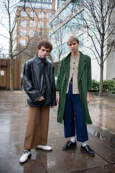 【スナップ】2016-17年秋冬ロンドン・メンズ・ファッション・ウイーク ストリートスナップ | SNAP | WWD JAPAN.COM