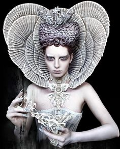 Kirsty Mitchell. The White Queen. Archival pigment photographic print, edition of 7. 100 x 80cm. £2,600. Mark Jason Gallery.  Artwork Highlights | London, Battersea