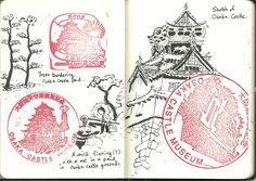 #Sketch #Travel #journal