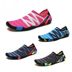 Unisex Sneakers Swimming Shoes Water Sports Aqua Seaside Beach Surfing Slippers Upstream Light Athletic Footwear For Men Women Sports Footwear, Sports Shoes, Water Sport Shoes, Shoe Vamp, Girls Slip, Seaside Beach, Beach Shoes, Bikini Workout, Men S Shoes