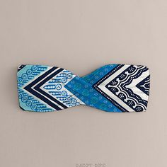 Tribal Blue Bandeau