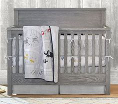 Charlie 4-In-1 Convertible Crib. This is the crib we purchased for our boy :)