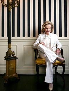 Texas Royalty Lynn Wyatt - Houston's style icon and philanthropist.