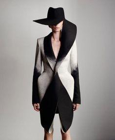 hat coat wonderfull lines