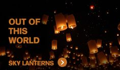 Sky Lanterns For Sale Wedding Send Off, Wedding Bells, Our Wedding, Wedding Ideas, Fireworks For Sale, Big Fireworks, Floating Lanterns, Sky Lanterns, Memorial Services