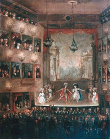 Michał Rymiński, Dorota Sitańska, and others of His Majesty's National Dancers, 1790 Dance Project, Ballerinas, 18th Century, Ballet, Entertainment, Explore, Classic, Illustration, Painting