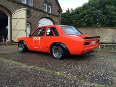 Opel Kadett C with fender flares