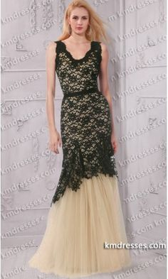 fabulous Sleeveless V-neckline black lace gown.prom dresses,formal dresses,ball gown,homecoming dresses,party dress,evening dresses,sequin dresses,cocktail dresses,graduation dresses,formal gowns,prom gown,evening gown.