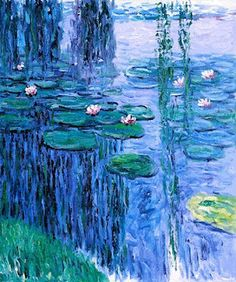 Water Lilies by Claude Monet was created in the 1920s and was the product borne out of the man's failing vision and the painting just depicts the way the acclaimed painter saw and interpreted the scene at that moment. It is very realistic and has never created any hint of his impending disability.