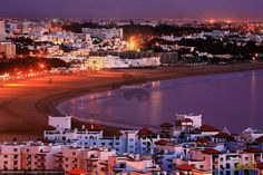 nice city Agadir / Morocco take me there again Maputo, Costa, African Countries, Countries Of The World, Beirut, Glasgow, Night Photography, Travel Photography, Agadir Morocco