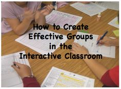 As we try to make our classrooms more and more interactive, the great challenge can often be creating groups that can work well together.  While it is important to have mixed-ability groups, it is also important to keep them guessing and to keep them open to learning with and from every classmate in the room.    This teacher shares how to create effective groups in the Interactive Classroom.