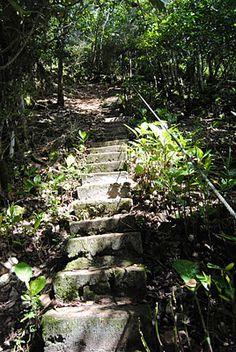 Guam 212 Spanish steps on this hike...
