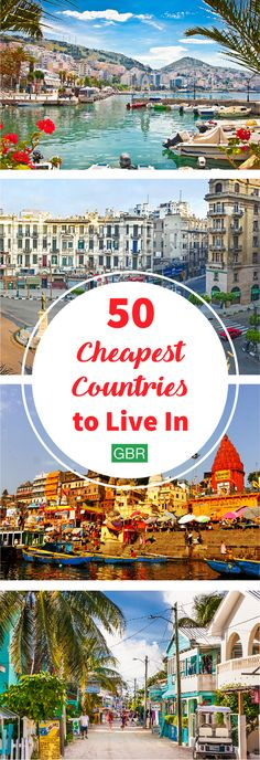 Click through to find the most affordable countries to live in....