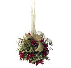 Mistletoe Door Decor Kiss Ball