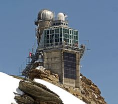 Sphinx - Observatorium auf dem Jungfraujoch - Berner Oberland - Schweiz