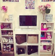 super cute and girly interior design
